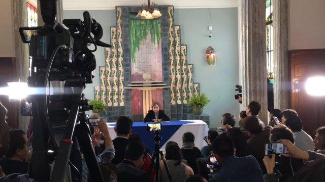 Carmen Aristegui anuncia su regreso a la radio en una conferencia de prensa