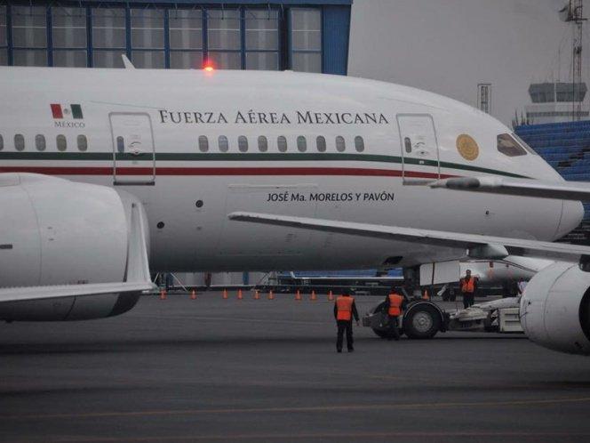 Avión presidencial falla en vuelo de regreso a México
