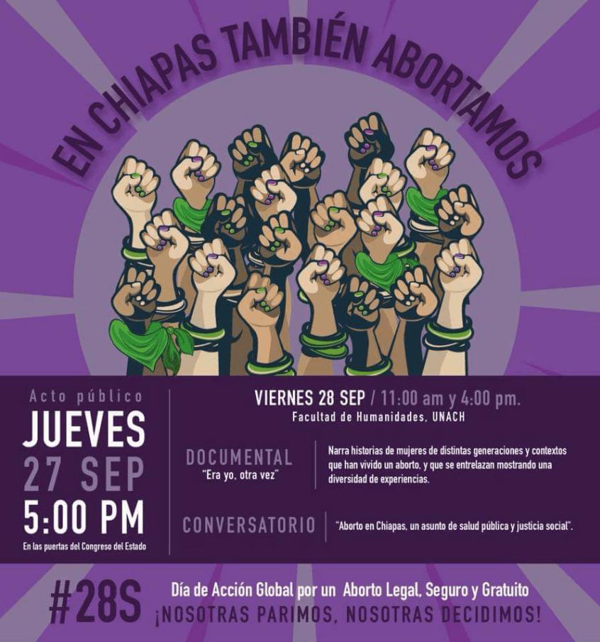 San Cristobal, Chiapas, Aborto, Amenazas, Motonetos