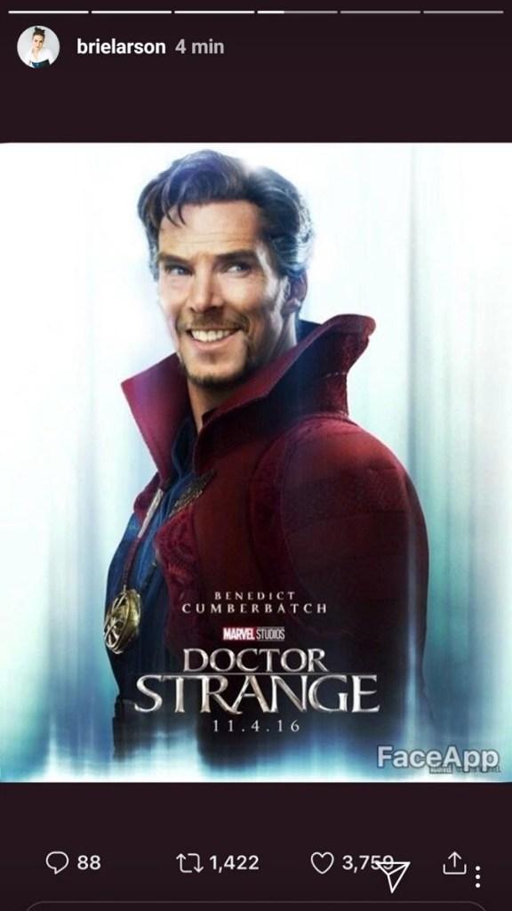 ¿Y por qué tendría que sonreír Captain Marvel y Brie Larson en el trailer?