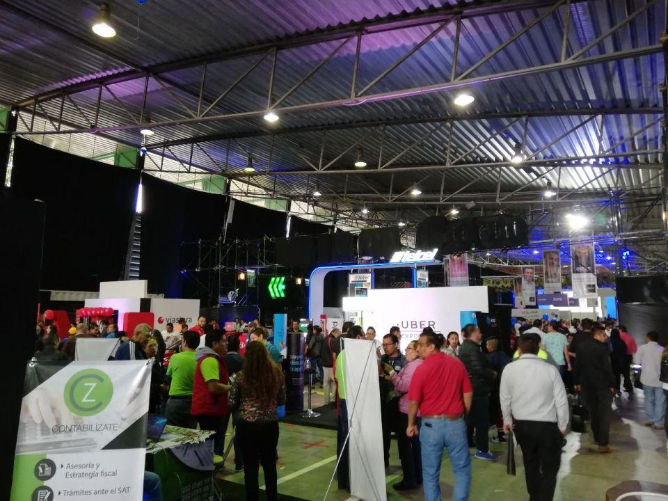 UberExpo 2018, en Pabellón Cuervo en CDMX