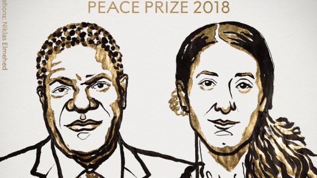 Premio Nobel de la Paz 2018, Nadia Murad, Denis Mukwege