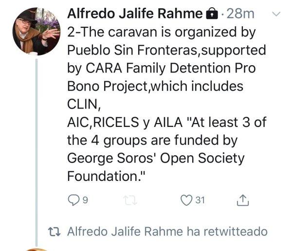Jalife y sus rants antisemitas contra Soros