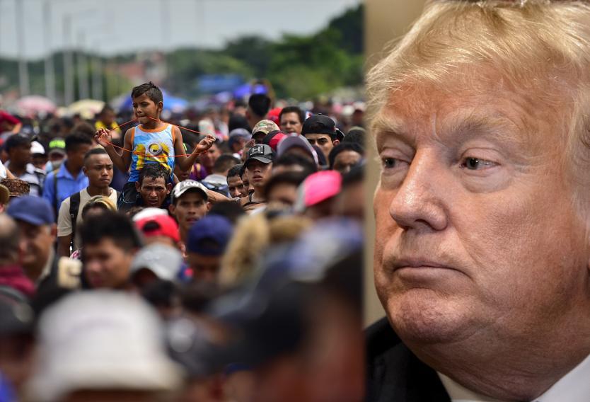 Trump y la Caravana Migrante: no es amenaza, son elecciones