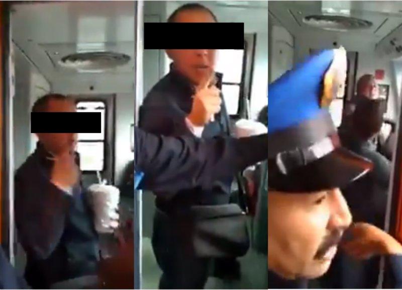 Detienen a conductor de metro por mostrar genitales a niña