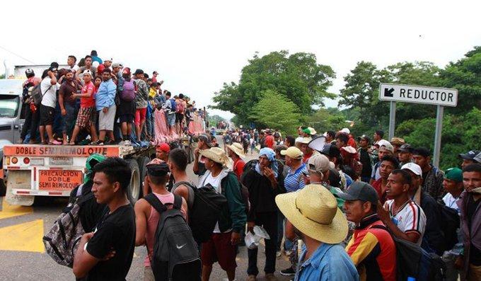 Caravana Migrante llega a CDMX, se preparan albergues y acopio