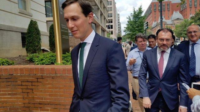 Kushner y Videgaray en una reunión en Washington D.C.