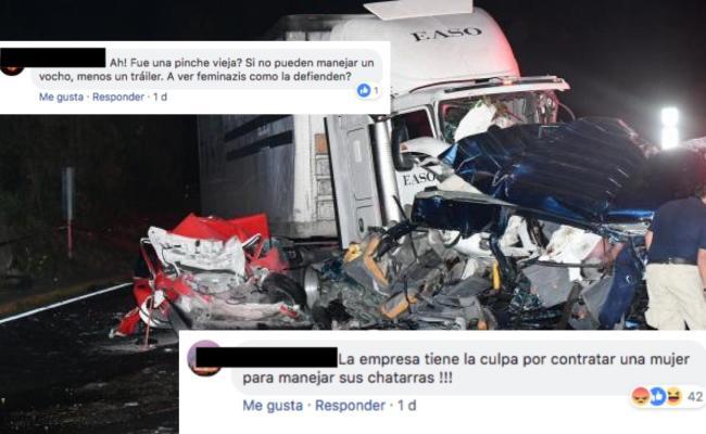 Se Desatan Comentarios Misóginos Por Accidente En Santa Fe