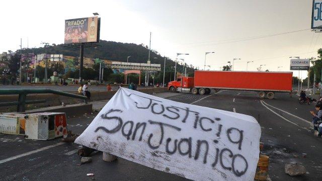 ¿Qué pasó este lunes en San Juanico?