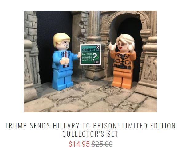 Muro Fronterizo, Lego, Donald Trump