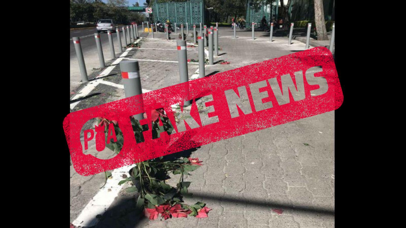 Fake News: no se robaron las nochebuenas de Los Pinos