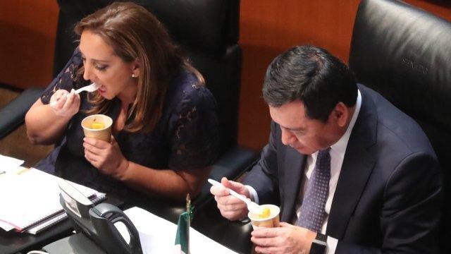 Senadores gastarán 20 mdp en comida y café