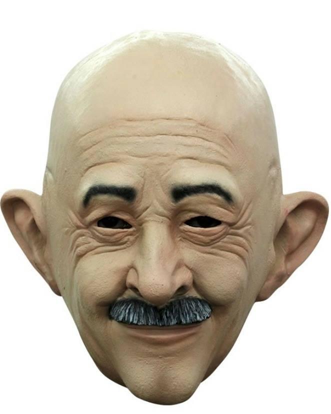 Máscara de látex de Carlos Salinas de Gortari