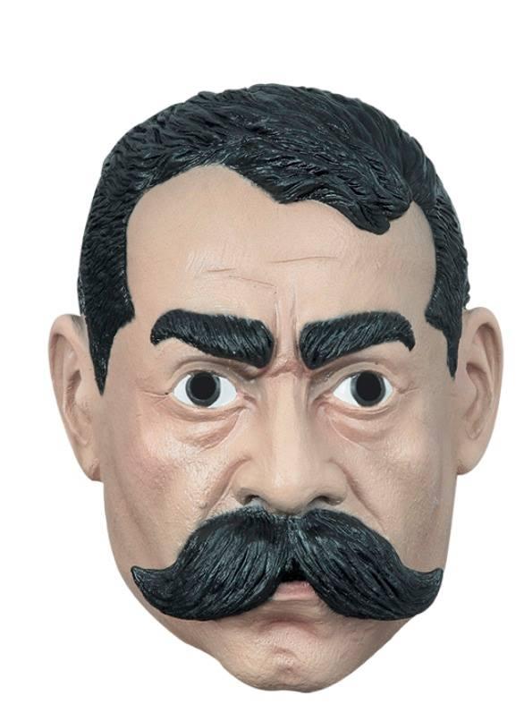 Máscara de látex de Emiliano Zapata