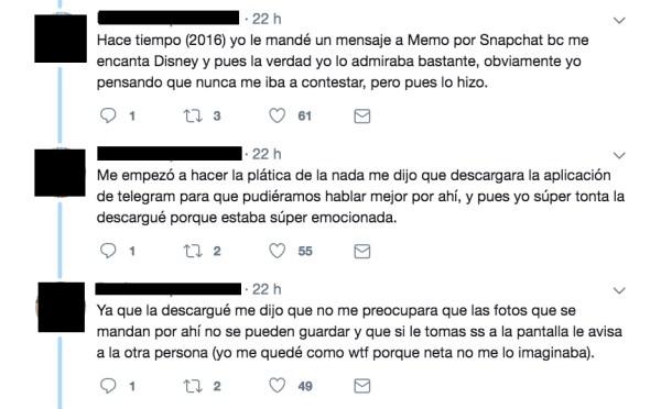 Memo Aponte, Nudes, Menores De Edad, Telegram