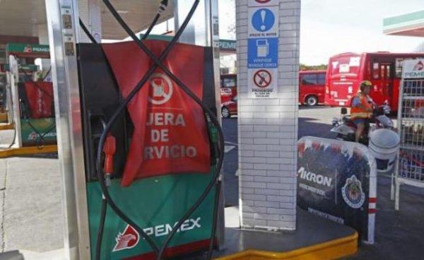 Gasolineras desabasto estados cierre oleoductos