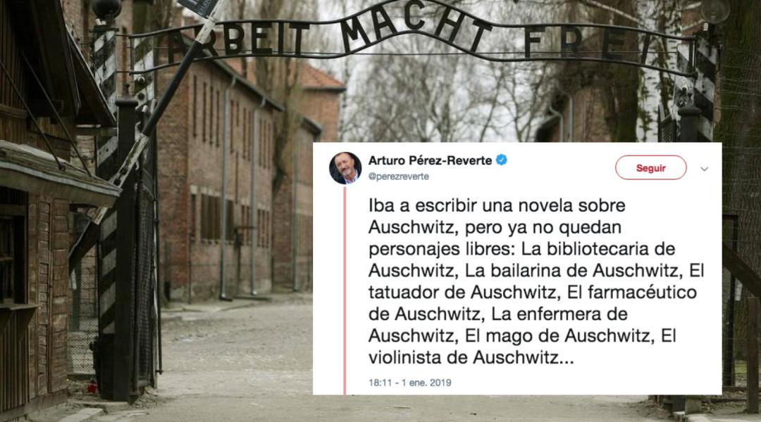 Pérez-Reverte bromea de Auschwitz, Memorial pide respeto