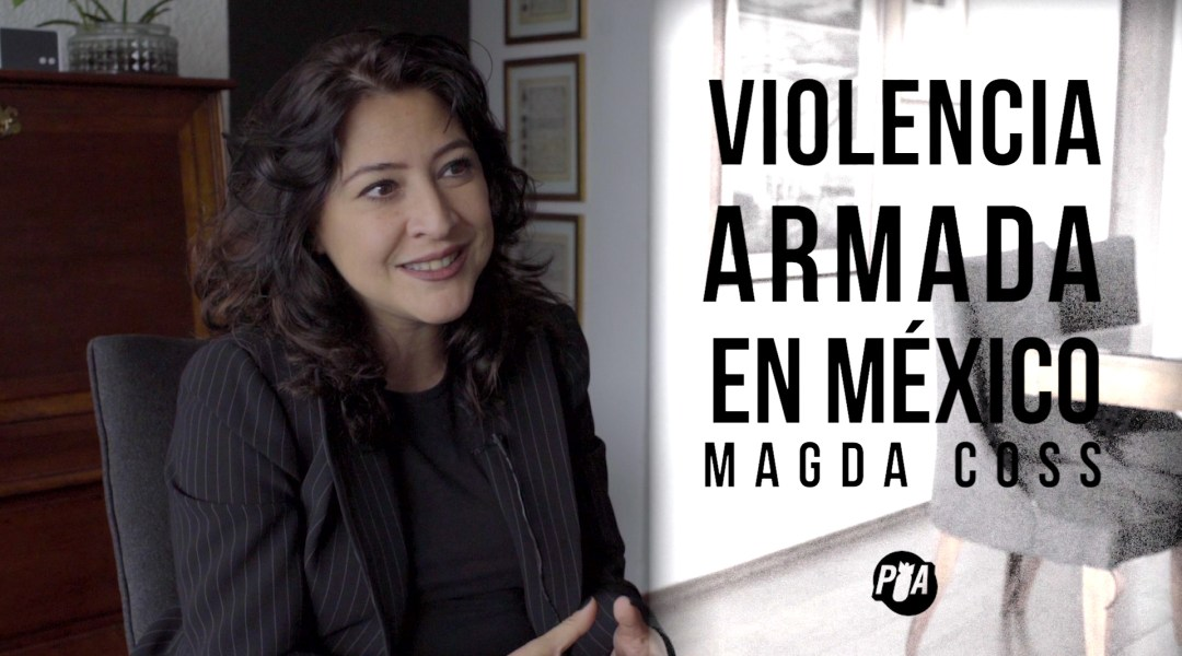 Entrevista a Magda Coss sobre violencia armada en México