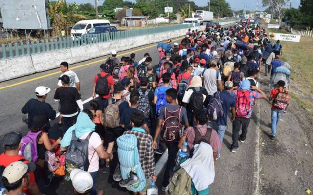 Centroamericanos, Migrantes, Detenidos, Chiapas, Caravana, deportados, inmigrantes