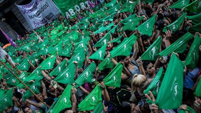 pañuelo verde origen aborto