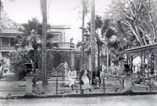 Quinta Hereen, en Lima; jardín diseñado por Matsumoto