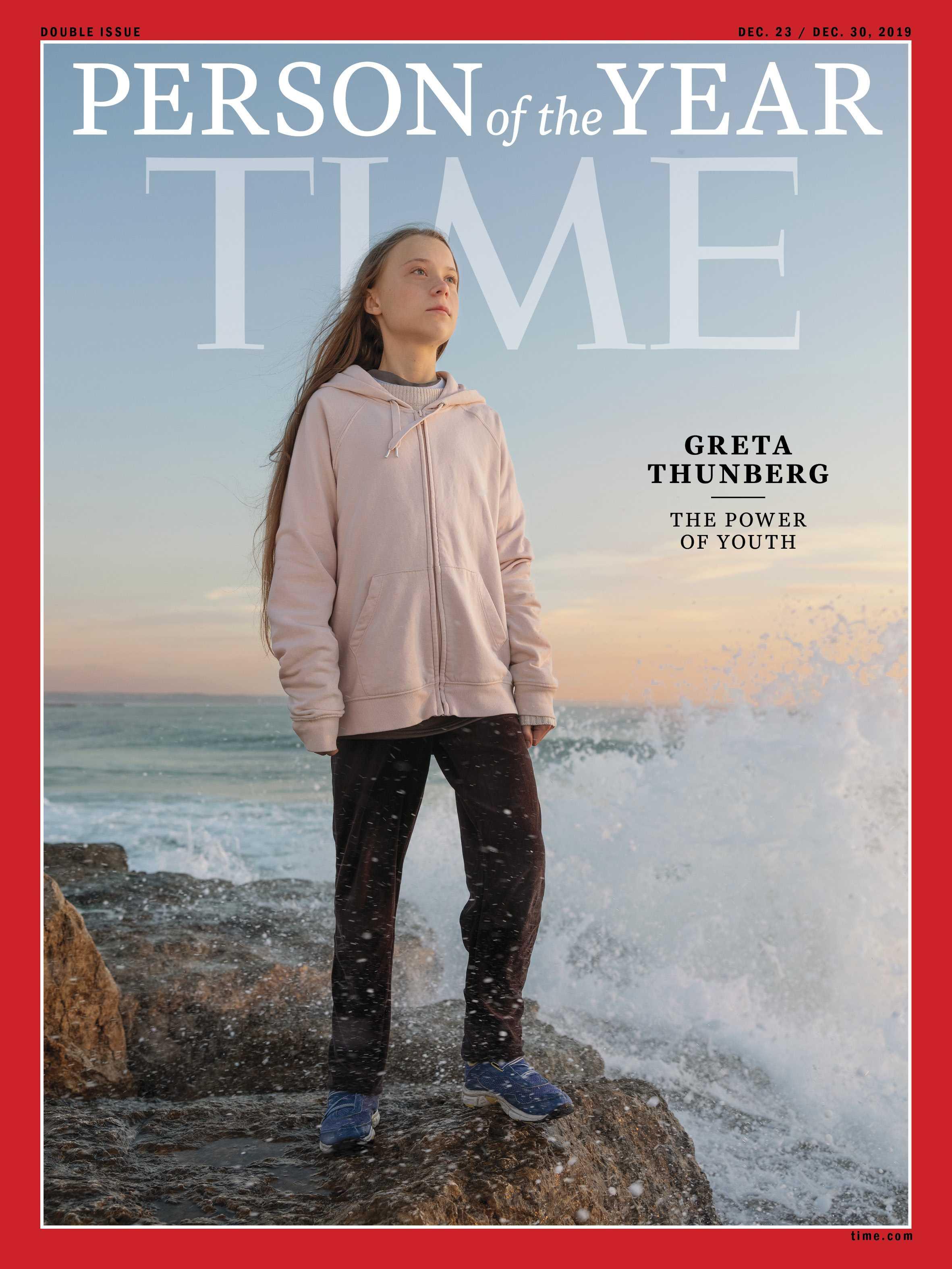 Greta Thunberg Persona del Año Time