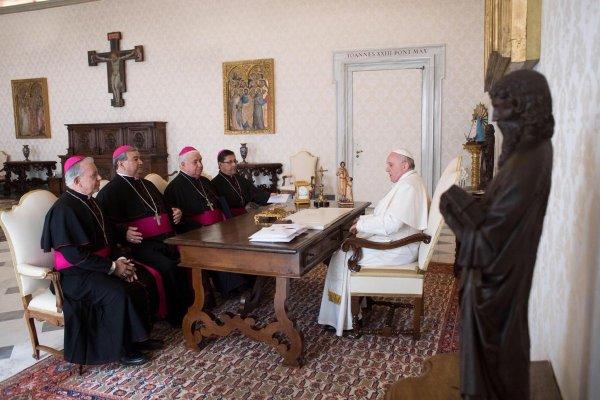 Papa, AMLO, México, evangelización, conquista