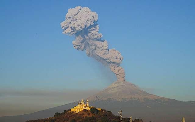 ¿Qué pasos debes seguir si el Popocatépetl hace erupción ...
