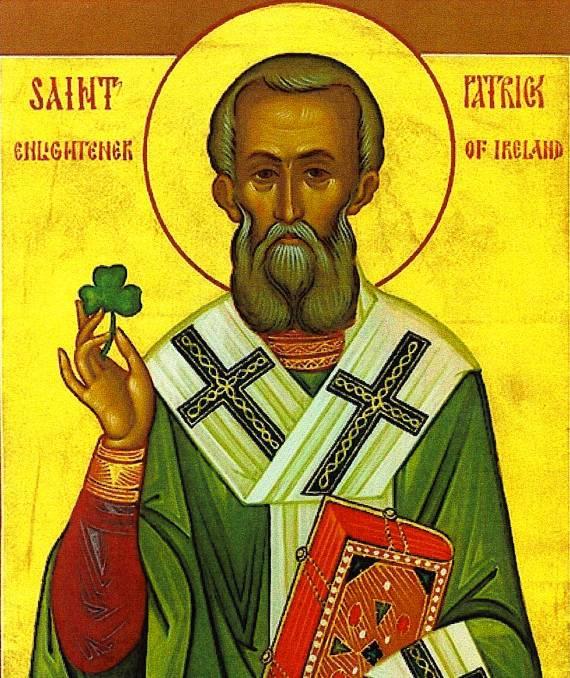 Icono de San Patricio, aprobado por el Vaticano con los cambios populares