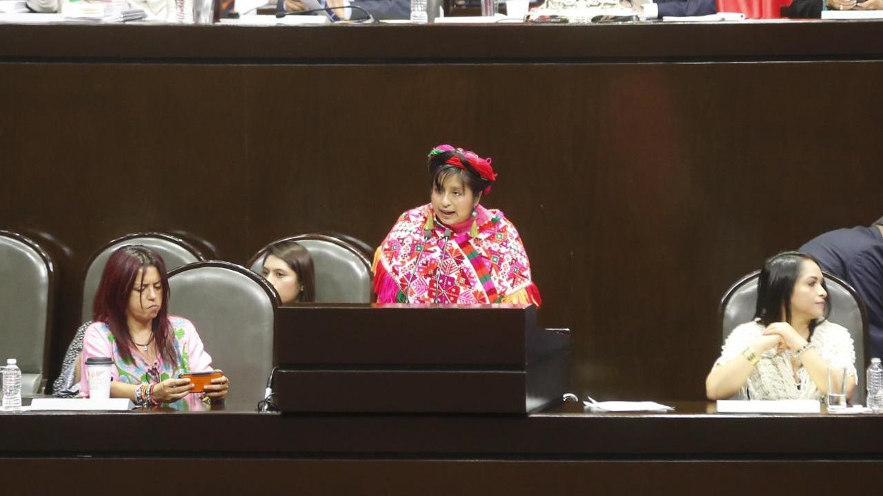 abogada indígena es ignorada por diputados