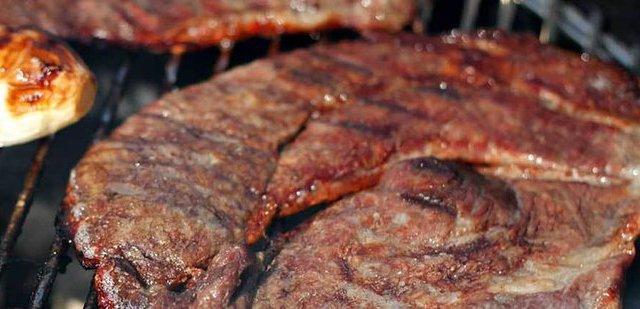 carne asada, diabetes, cáncer