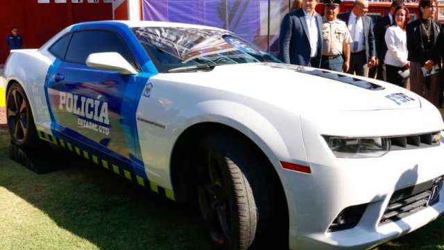 Guanajuato tendrá patrullas de autos de lujo