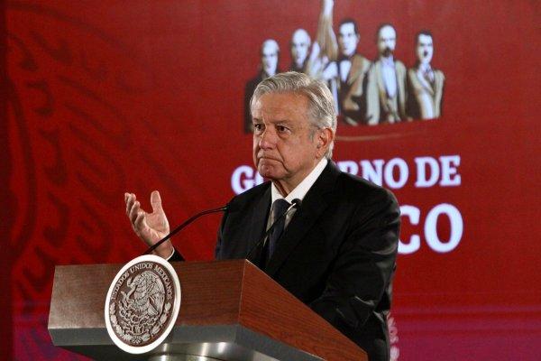 López Obrador, en su conferencia de las mañanas