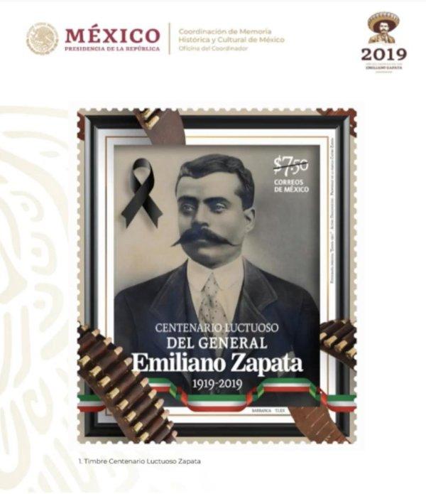 Zapata, AMLO, conmemoración