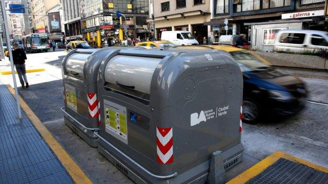 Basureros inteligentes, Argentina
