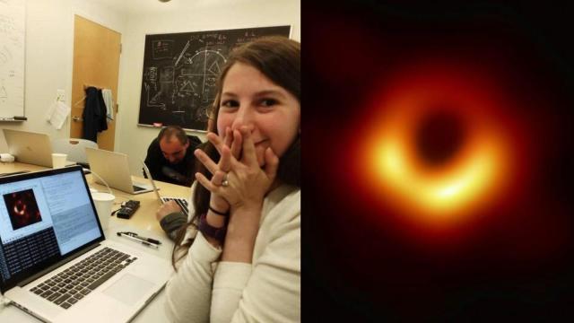 Katie Bouman y su algoritmo para fotografiar el hoyo negro