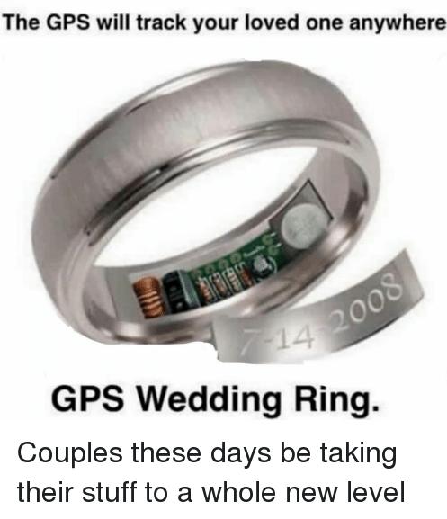 Anillo, Boda, Compromiso, GPS