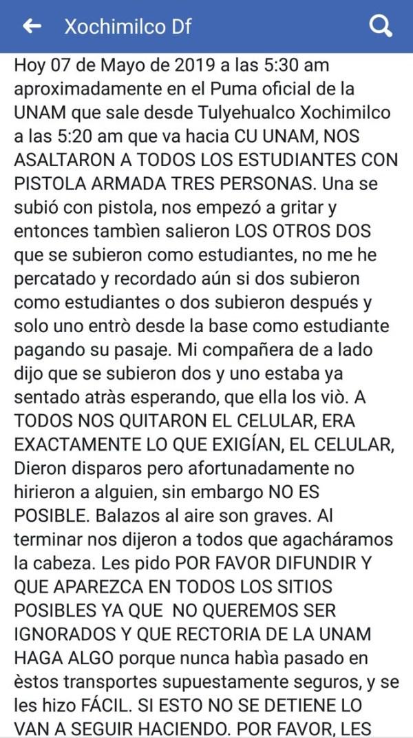 Asalto Pumabús, Pumabús