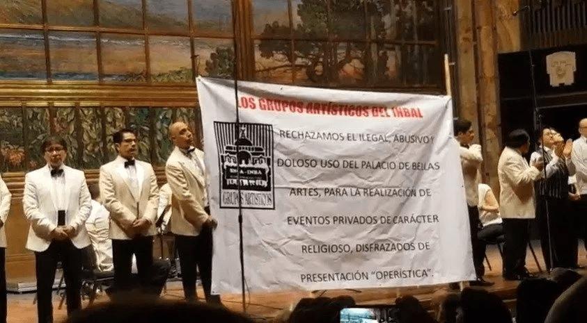 Exigen Renuncia de la directora del INBA por la ópera El espejo del Mundo.