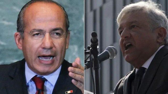 López Obrador difunde carta de Calderón donde pide le brinde seguridad