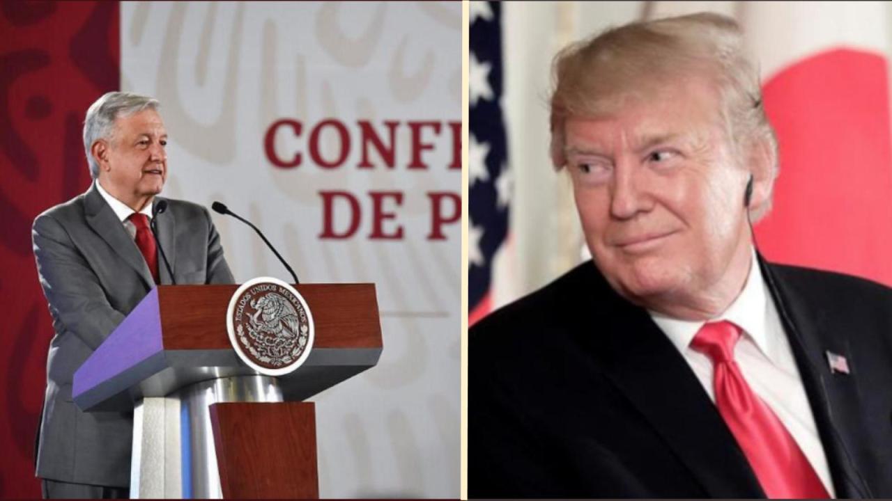 Carta de AMLO a Trump sobre amenaza de aranceles