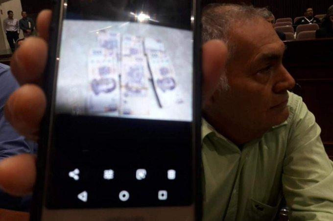 Florentino Vizcarra confiesa haber recibido soborno pero regresarlo después.