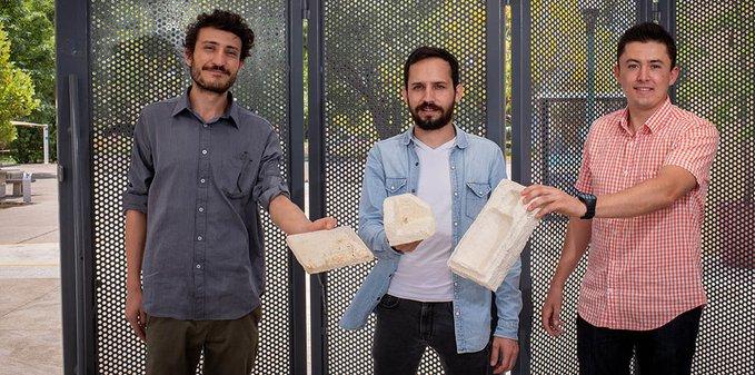 Jóvenes mexicanos del ITESO crean unicel biodegradable