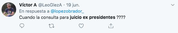 AMLO no quiere enjuiciar a ex presidentes