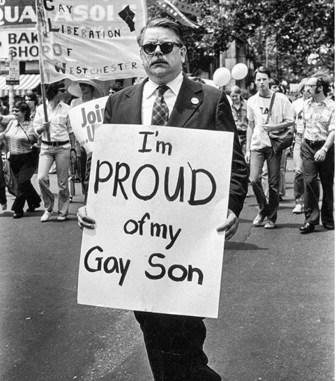 Una de las cuentas que muestran la historia de la comunidad LGBT+