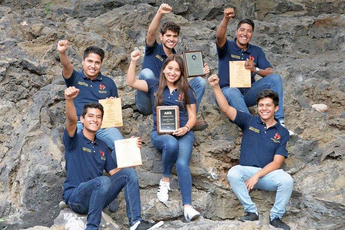 Alumnos UNAM ganan concurso de ingeniería civil en EEUU
