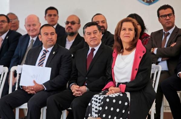 Margarita Zavala en evento magno de La Luz del Mundo en 2018