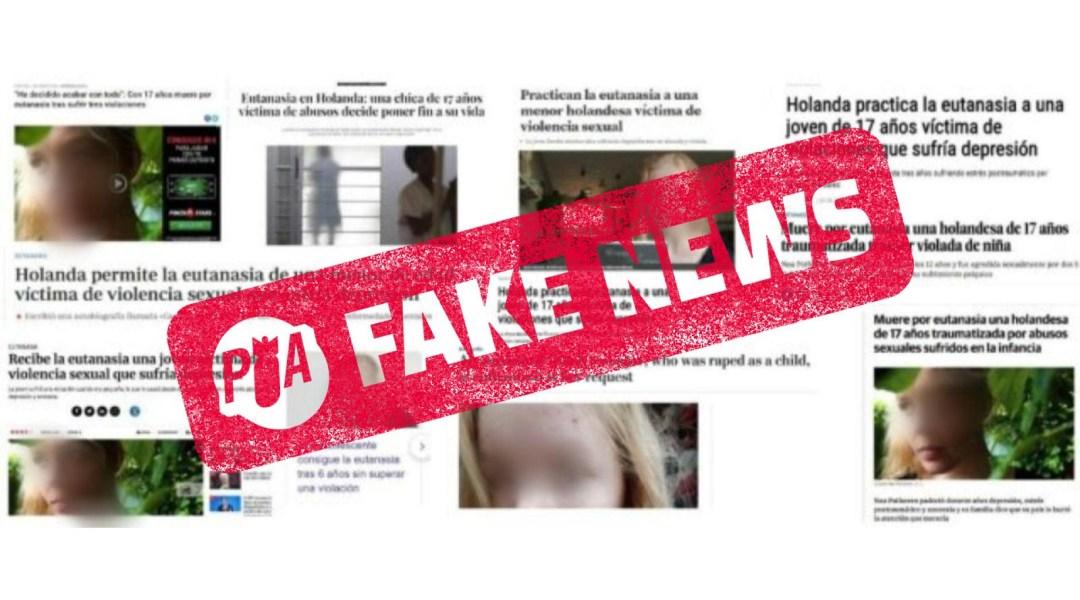 Falso: a chica holandesa no se le práctico eutanasia tras violación