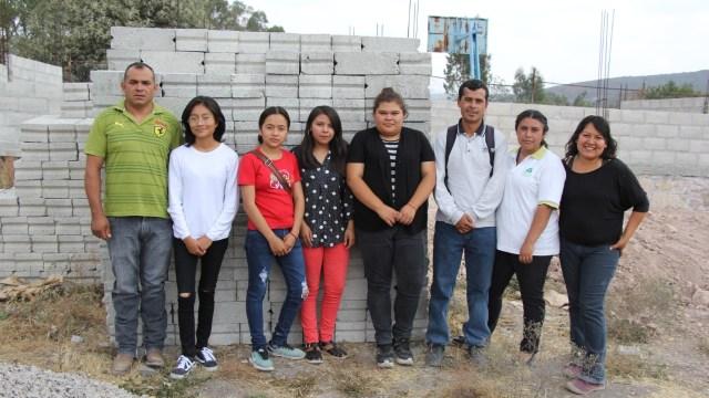 Estudiantes toman riendas en la construcción de su plantel