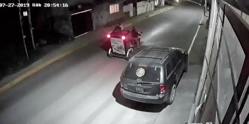 un mototaxi rescató a una mujer de un secuestro en EdoMex